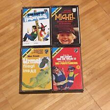 4x MC Kassette Philips Sonic Series Urmel Michel Hotzenplotz Jim Knopf Wilde 13