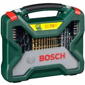 Bosch X-Line Titanium Bohrer und Schrauber Set 70tlg. Bit/Bohrer/Werkzeugaufsatz