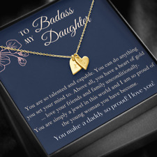 PERSONALIZED Graduation Gift for Daughter / Stepdaughter - From Mom, Dad or Both