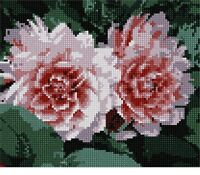 Flowery Needlepoint Kit or Canvas (Floral/Nature)