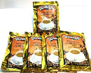 Vinacafe 3-In-1 Instant Vietnamese Coffee 20 Sachets x 20 g ( Pack of 5 )