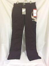 NAF NAF Embroidered Eagle Jeans Pants Bird Brown Sz 36, US 4