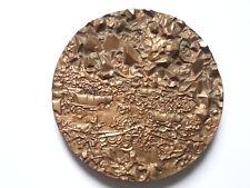 médaille bronze thérèse dufresne histoire états-unis d'amérique conquête rare