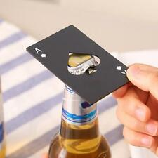 Mini Spade Poker Card Beer Bottle Opener Stainless Steel Bottle Opener Bar Tool