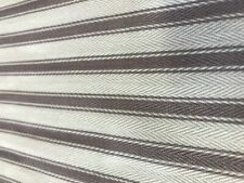 french ticking mulberry 100% cotton fabric stripe woven curtain upholstery