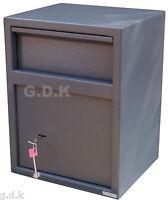 GDK maison,bureau sécurité Lettre,Post Goutte sécurité,espèces dépôt ,Boîte clé
