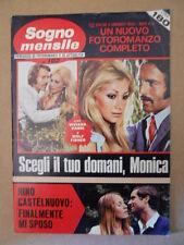 SOGNO MENSILE n°102 1973 Fotoromanzo Anni 70 - Sylvie Vartan  [G581]