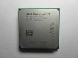 AMD Phenom II X4 955 Black Edition Quad Core 3.2GHz 6MB Socket AM2+ AM3 CPU