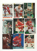 56 count lot mixed Slava Kozlov CARDS with 22 rookie cards Detroit Red Wings C!