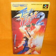 VINTAGE 1993 CAPCOM NINTENDO SUPER FAMICOM FINAL FIGHT 2 GAME JAPAN BOXED