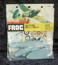 Frog Spitfire Aircraft Model Kit 1/72 Scale Bagged Hang Pack