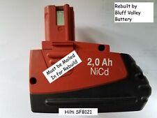 Rebuild Battery Repair service for Hilti SFB121 12 V 2200 mAh NiCd
