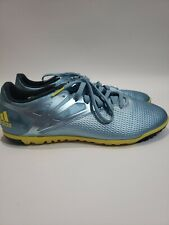 Adidas Men Shoe Messi 15.3 Size 13 M Indoor Blue Soccer Sneaker Pre Owned