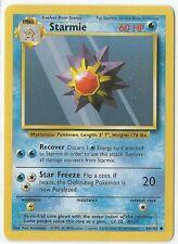 Pokemon Base set common Starmie 64/102 Near Mint condition