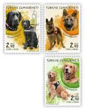 Turkey 2020 domestic animals dogs set MNH