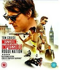 Mission Impossible - Rogue Nation Blu-Ray (2015) Tom Cruise