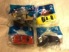 2001 McDonalds Hot Wheels -complete set of 8 toys -- all MIP - Issued In England