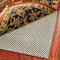 Rug Pad 8x10 Non Skid Slip Underlay Nonslip 5x7 5x8 4x6 3x5 2x4 7x10 3x4 Padding