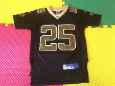 Reggie Bush New Orleans Saints Reebok OnField Black Jersey Youth Size Small 8