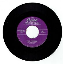 "1951 Christmas in the Air ""Silent Night/Winter Wonderland"" 45rpm Great Shape"