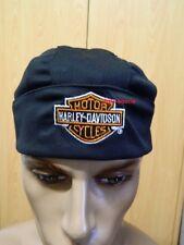 Harley-Davidson Kopftuch Herren schwarz Headwrap Bandana Mütze HW10830 B&S black
