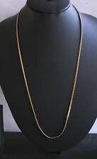 22k Collar Cadena De Oro Plateado Para Damas/Hombres 22 pulgadas h63 de Bollywood real que buscan