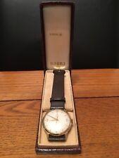A Rolex Tudor Royal 9ct gold vintage gents watch