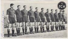 1. FC Nürnberg Mannschaft 1963 Adidas Prospekt