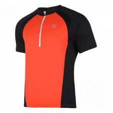 Abbiglimento sportivo da uomo traspirante rosso in poliestere