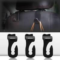 Universal Car Seat Back Hooks Hangers Organizer Headrest Mount Storage Hooks
