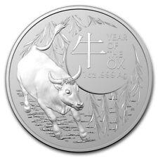 1 oz Silver Coin - 2021 Lunar Year of the Ox - Royal Australian Mint - $1 Coin