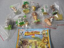 Set  Madagascar 2  Kinder Surprise Dreamworks  2008 NV Series  Ferrero