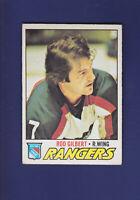 Rod Gilbert HOF 1977-78 O-PEE-CHEE OPC Hockey #25 (VG) New York Rangers