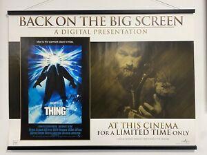 The Thing 1982, Original UK Quad Sheet Movie Poster