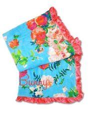Beach Bunny BEACH TOWEL XXL RARE 2015 Bahama Mama Blue Tropical Floral Print NWT