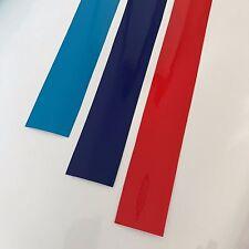 BMW ///M  Streifen 210x30mm Nieren Aufkleber Sticker Vinil Decal E39 E60 E46 E90