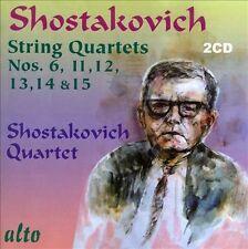 SHOSTAKOVICH: STRING QUARTETS NOS. 6, 11, 12, 13, 14 & 15 NEW CD