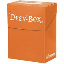 DECK BOX PORTA MAZZO Arancione - Orange MTG MAGIC Ultra Pro