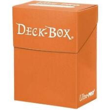 DECK BOX PORTA MAZZO Arancione - Orange MTG MAGIC Ultra Pro