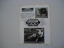 advertising Pubblicità 1972 MOTO AERMACCHI HD 125 RC