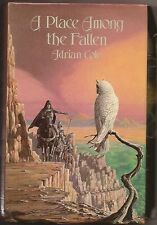 ADRIAN COLE A Place Among the Fallen. UK 1st ed. Sword & sorcery. VOIDAL author