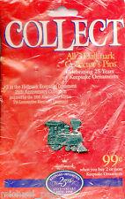 Hallmark Keepsake Ornament 25th Anniversary - Lapel Pin - # 3 - NEW - 1998