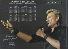 "Calendrier ""Johnny Hallyday"" Calendrier 2011"