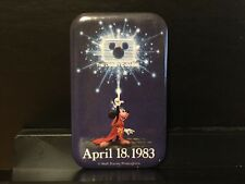 Walt Disney World Wdw Disney Channel Launch Cast Pin 1983 Sorcerer's Apprentice
