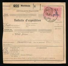 196649) Frankreich Elsass Paketkt aus Bischheim