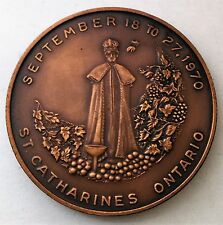 C2012    ST. CATHARINES, ON.,  CANADA    BRONZE   MEDAL,  GRAPE & WINE  FESTIVAL