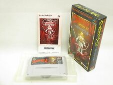ULTIMA VI 6 Item Ref/bcc Super Famicom Nintendo Japan Boxed Game sf