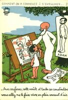Publicité ancienne  pharmaceutique Labo Le Brun Jean Effel février 1960