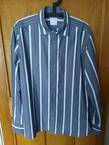 MENS THOMAS PINK CASUAL SHIRT - XL -  BNWOT - BLUE