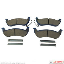 Disc Brake Pad Set-Pads - Superduty - Integrally Molded Organic Rear MOTORCRAFT